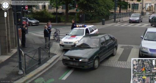 Google Street View à Rennes