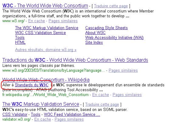 Zoom sur les SERPs de Google