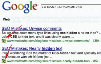 favicon dans SERPs de Google