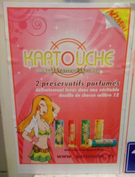 Pub préservatifs Kartouche