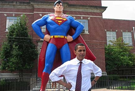 Obama VS Superman