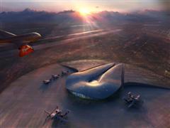 Spaceport pour Virgin Galactic au nouveau Mexique