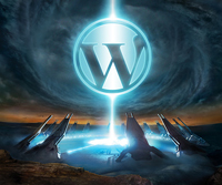 Logo halo WordPress